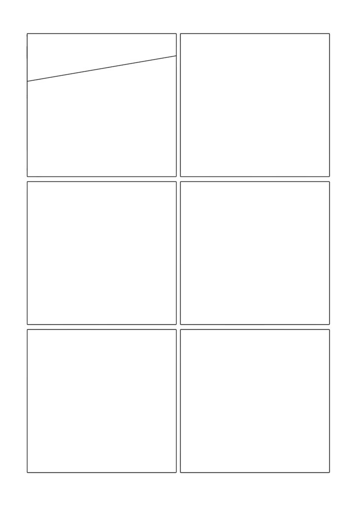 Comic template page 1