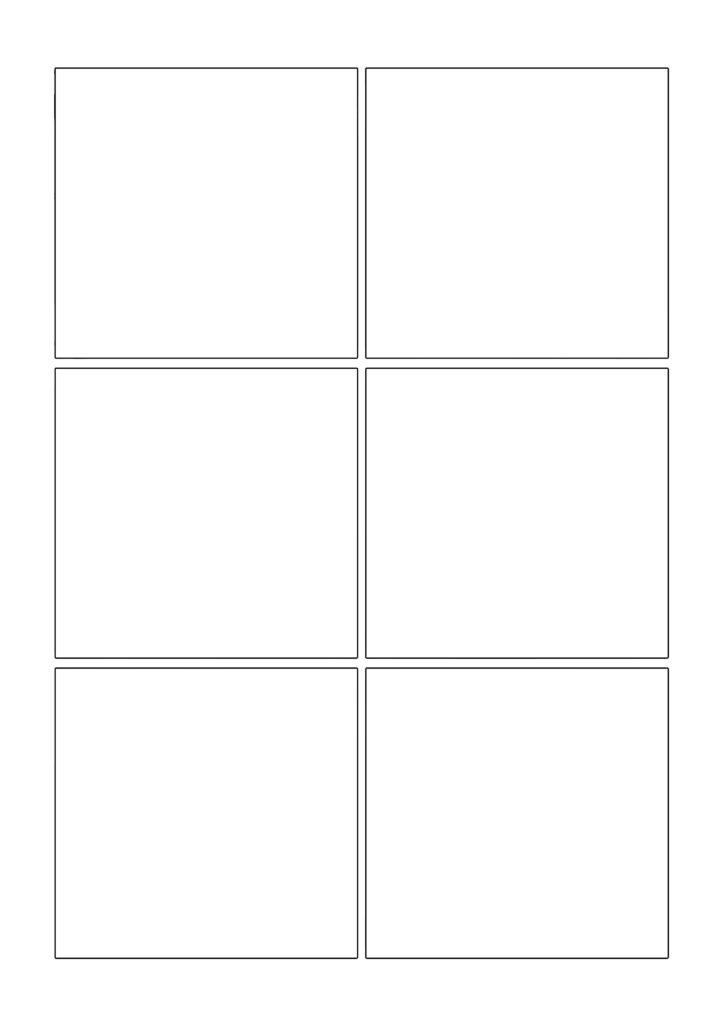 Comic template page 2+
