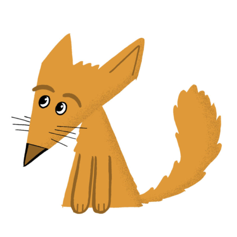 The original 'triangle fox'