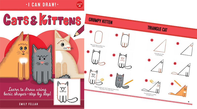 I Can Draw Cats and Kittens by Emily Fellah