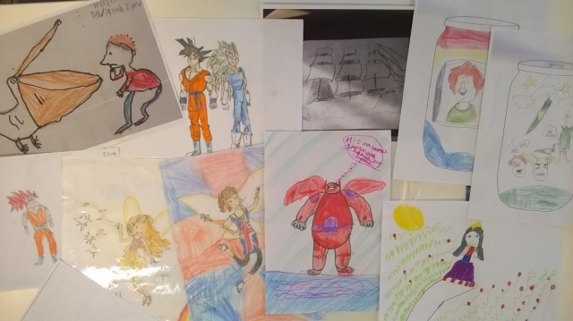 Southwark Graphic Art competition 7-9 category entries
