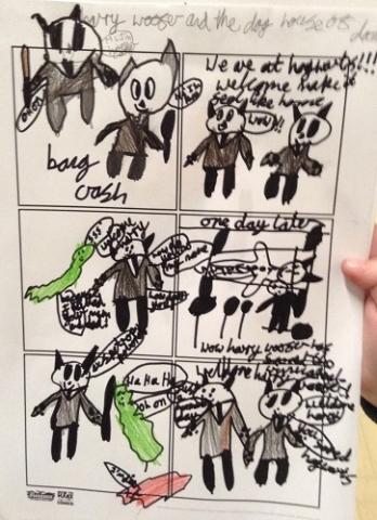 A fun filled comic strip created in my workshop